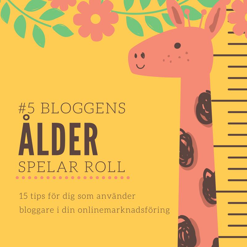 15 tips till dig som använder bloggare i din onlinemarknadsföring