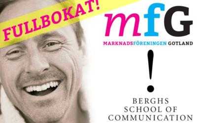 Föreläsning i Visby med minnesvärd feedback
