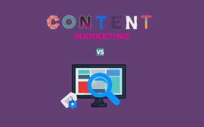 Vad är skillnaden, Content Marketing vs SEO?