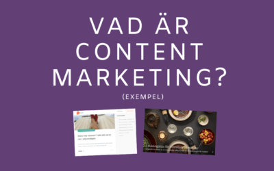 Vad är Content Marketing?